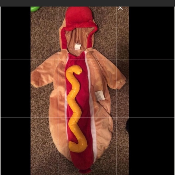 Other - NWT 0-9 month Hot Dog Costume